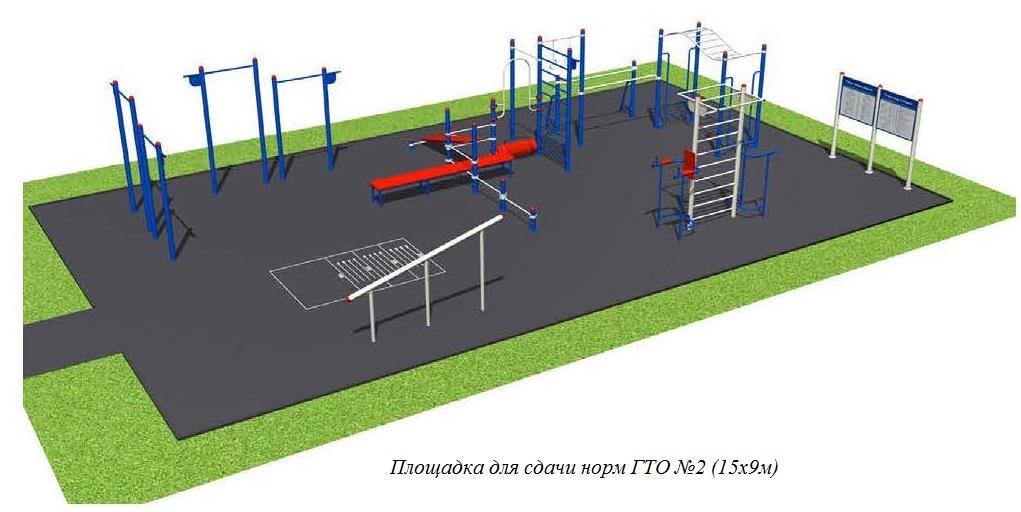 Площадка для ГТО